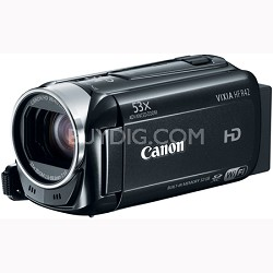 """VIXIA HF R42 HD 53x Image Stabilized Opt Zoom Camcorder 32GB Internal 3"""" Touch"""