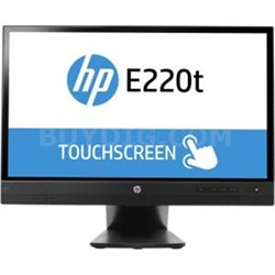 "Promo Elite E220T 22"" Full HD LCD Touchscreen Monitor - L4Q76A8#ABA"