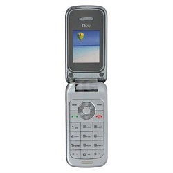 F1 Compact Flip Phone in Silver - F1 US SIL