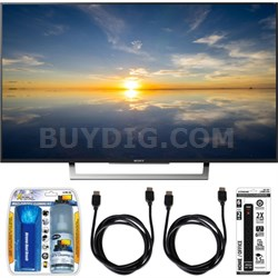 "XBR-43X800D - 43"" Class 4K HDR Ultra HD TV w/ Essential Accessory Bundle"