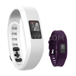 Vivofit 3 Activity Tracker Fitness Band w/ Replacement Band (Purple)