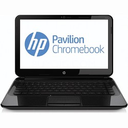 "Pavilion 14-c050us 14.0"" HD LED Chromebook PC - Intel Processor 847 - OPEN BOX"