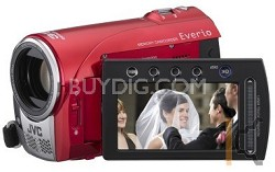 GZ-MS100R - Everio SD/SDHC Card Camcorder (Red)