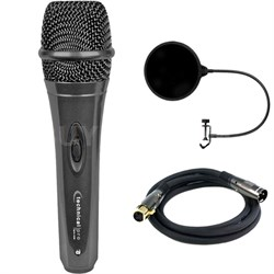 Professional Wired Microphone w/Digital Processing w/ Filter Bundle