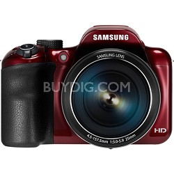 WB1100F 16.2MP 720p HD Video Smart Digital Camera - Red