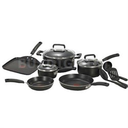 12-Piece Signature Cookware Set in Black - C111SC74