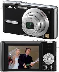 """DMC-FX9 (Black) Lumix Ultra-Compact 6 Megapixel Digital Camera w/ 2.5"""" LCD"""