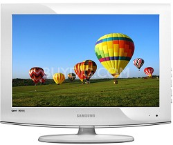 "LN19A331 - 19"" High Definition LCD TV  (White)"