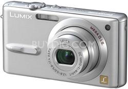 "DMC-FX9 (Silver) Lumix  6 MP Digital Camera w/ 2.5"" LCD - OPEN BOX"
