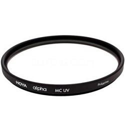 58mm Alpha UV (Ultra Violet) Multi Coated Glass Filter