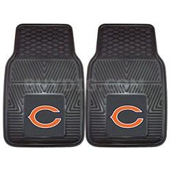 NFL Chicago Bears Vinyl Heavy Duty Car Mat - Set of Two