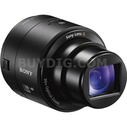 DSC-QX30/B 30x Optical Zoom Lens Style Camera with NFC/Wi-Fi - OPEN BOX