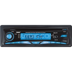 Detachable Stereo AM/FM Car Radio with CD Player and Aux-In Jack (Black)