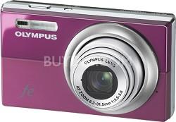"FE-5010 12MP 2.7"" LCD Digital Camera (Plum Pink)"