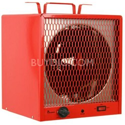 Portable Industrial Heater - 5600W, Heats Up To 600 Square Feet (Red)
