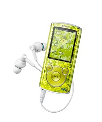 NWZ-E464 8 GB Walkman MP3 Player (Green)