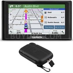 Drive 50 GPS Navigator (US and Canada) 010-01532-08 Soft Case Bundle