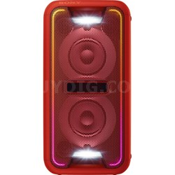 GTK-XB7 High Power Home Audio System with Bluetooth - Red