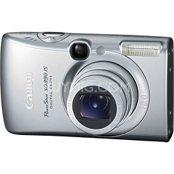 Powershot SD890 IS 10MP Digital ELPH Camera (Refurbished 90 Canon Warranty)