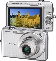 "Exilim EX-Z1050 10MP Digital Camera with 2.6"" LCD (Silver)"