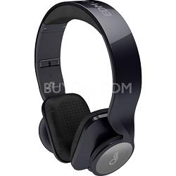 D50P-BK EDM Universe On-Ear Headphones - Metallic Black