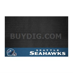 NFL Seattle Seahawks Vinyl Heavy Duty Grill Mat