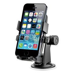 HLCRIO102 Easy One Touch Universal Car Mount (iPhone 5, 4, Smartphone)