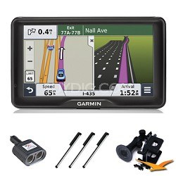 "nuvi 2797LMT 7"" Bluetooth GPS with Lifetime Maps and Traffic Essentials Bundle"