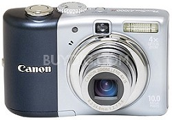 Powershot A1000 IS Digital Camera (Blue)