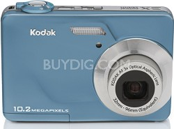 "EasyShare C180 10.2 MP 3x Zoom 2.4"" LCD Digital Camera (Teal)"