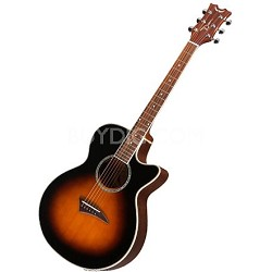 Performer E Electric Acoustic-Electric Guitar - Tobacco Sunburst