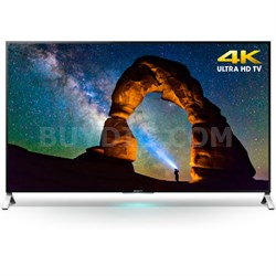 XBR-55X900C - 55-inch 4K Ultra HD 3D Smart LED TV - OPEN BOX