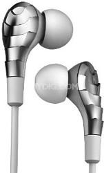 IP-ELITE-EP-CHR Earphones with Microphone, Chrome