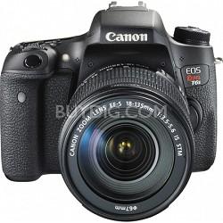 EOS Rebel T6s Digital SLR Camera Body with EF-S 18-135mm IS STM Lens Kit