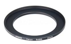 ACSX500 Adaptor Tube for Canon Powershot SX500 (Black)