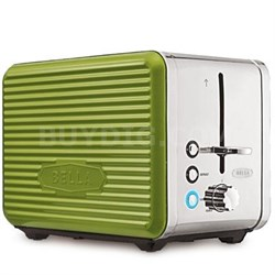 Linea 2 Slice Toaster Green