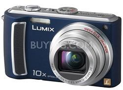 DMC-TZ5A - 9 Megapixel Digital Camera (Blue) w/ 3- inch LCD