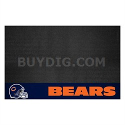 NFL Chicago Bears Vinyl Heavy Duty Grill Mat