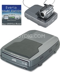 CU-VD10 Share Station DVD recorder for select JVC camcorders