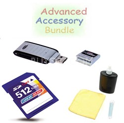Bargain Accessory Kit for Powershot SD30 and SD40