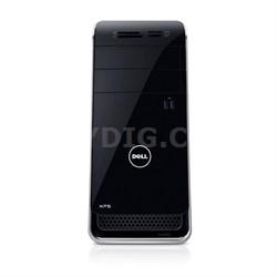 XPS 8700 Desktop Computer - Intel Core i7-4790 3.60 GHz - Mini-tower - Black