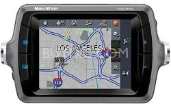 XNAV3550 NavAtlas Portable Vehicle GPS Navigation w/ 3.5-inch LCD