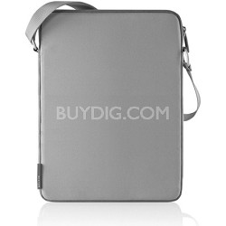 F8N067-GRY - Macbook Air Vertical Sleeve with Shoulder Strap (Gray)