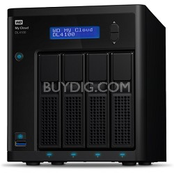 My Cloud Business Series DL4100 4-Bay Pre-configured NAS Hard Drive - 16TB