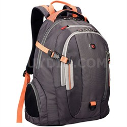 "Swiss Army Commute Deluxe Laptop Backpack for Notebooks up to 16"" Orange"