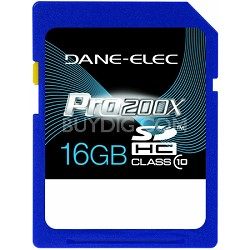 16 GB Secure Digital High Capacity (SDHC) Memory Card Class 10