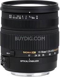 17-70mm f/2.8-4 DC Macro OS HSM Lens for Nikon Mount Digital SLR Cameras