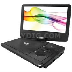 10-Inch Portable DVD Player with 5 Hour Battery Life
