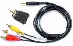 Audio/Video Travel Cable Kit for Pocket Video Recorder