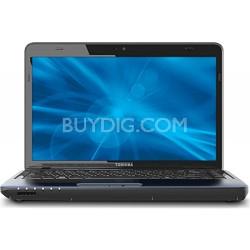 """Satellite 14.0"""" L745D-S4230 Notebook w/ AMD Quad-Core Processor 4GBRAM -OPEN BOX"""